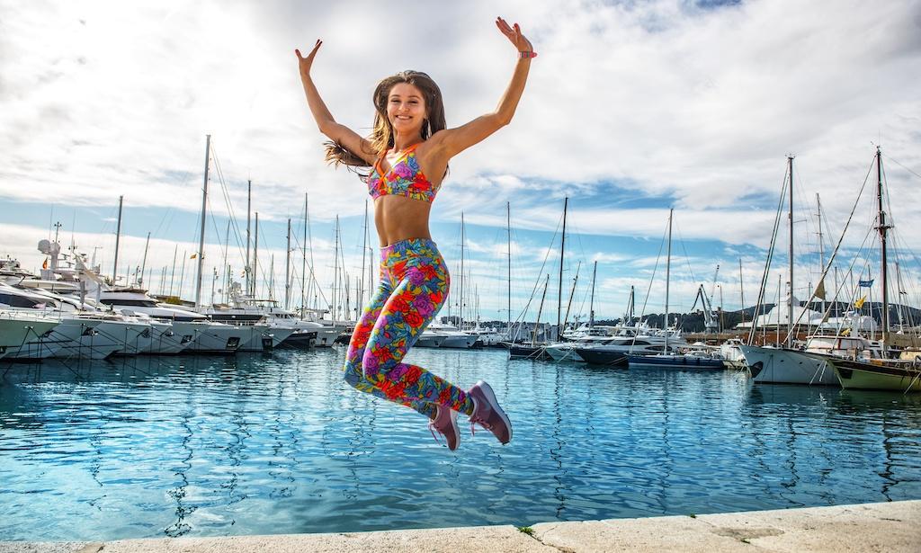 alina romila fitness trainer